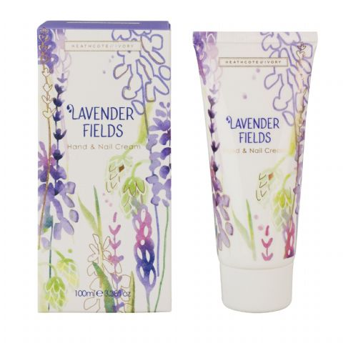 Lavender Fields Hand & Nail Cream 100ml Heathcote & Ivory